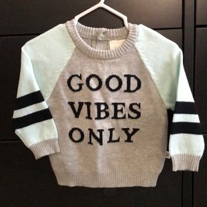 Size 12m Baby Boys Sweater